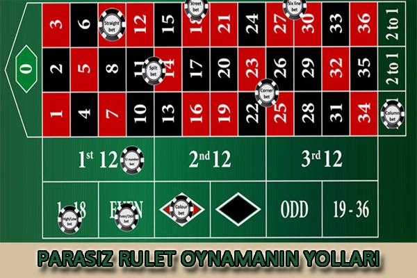 parasız rulet oynama, rulet oynama, yabancı sitelerde rulet oynama
